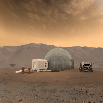 By NASA/Clouds AO/SEArch - https://www.nasa.gov/feature/langley/a-new-home-on-mars-nasa-langley-s-icy-concept-for-living-on-the-red-planet, Public Domain, https://commons.wikimedia.org/w/index.php?curid=66871595